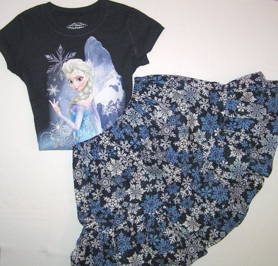 Elsa outfit  Frozen outfit  Back to school by GirlsGoneGirlie, $41.95