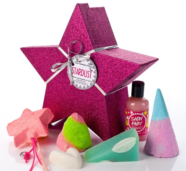 96 best naturally gifted images on pinterest lush cosmetics stardust give someone a pink star full of twinkly sweetly scented goodies negle Image collections