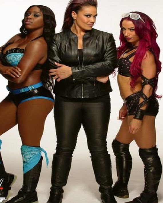 Tamina Snuka Leather Jacket (5)