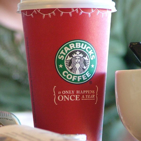2005 Starbucks Holiday Red Cup