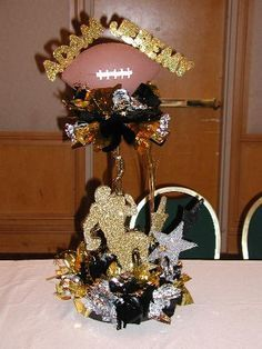 Sports banquet centerpieces, Banquet centerpieces and Banquet on ...