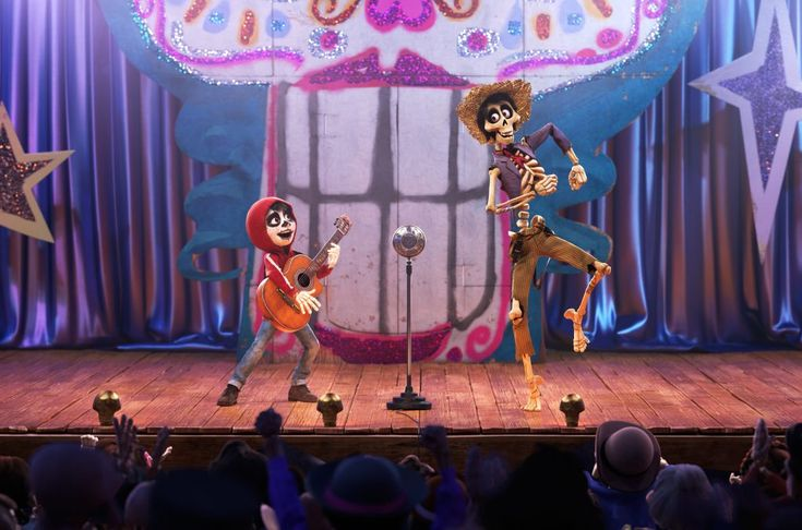 "COCO (Pictured) - UN POCO LOCO – In Disney•Pixar's ""Coco,"" aspiring musician Miguel (voice of Anthony Gonzalez) teams up with a charming trickster named Héctor (voice of Gael García Bernal) to unravel a generations-old family mystery. Their extraordinary journey through the Land of the Dead includes an unexpected talent show performance of ""Un Poco Loco,"" an original song in the son jarocho style of Mexican music written by co-director Adrian Molina and Germaine Franco for the film."