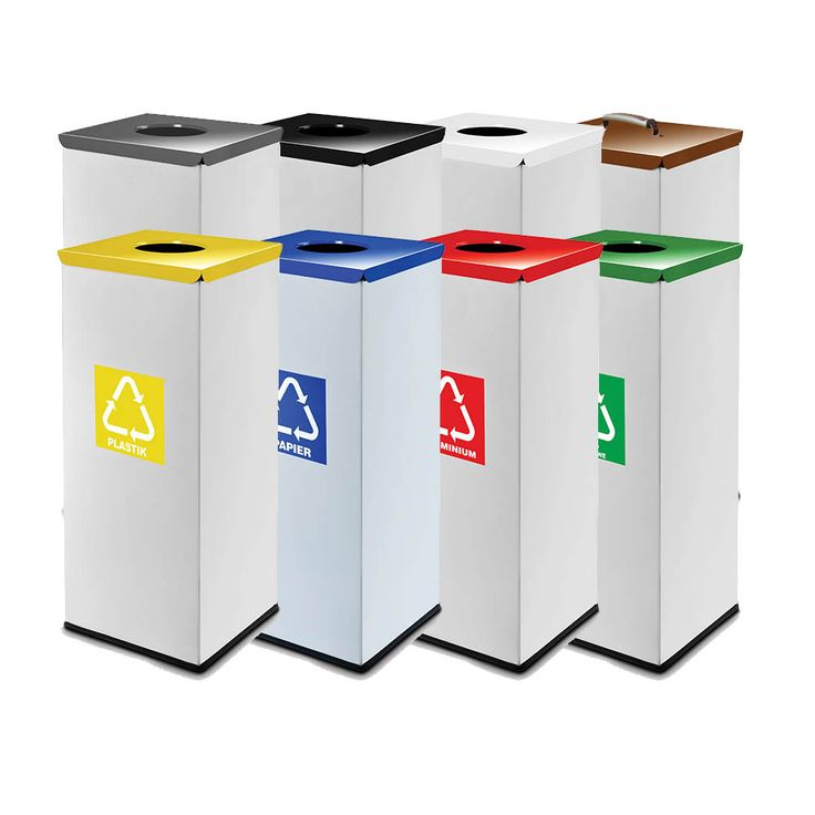 53 best recycling bins images on pinterest recycling. Black Bedroom Furniture Sets. Home Design Ideas
