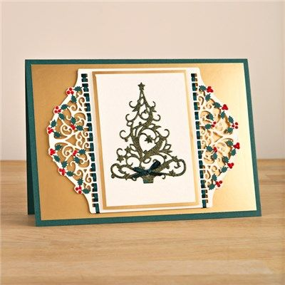 Buy Tonic Christmas Header Dies - 2 Sets from CreateAndCraft.tv