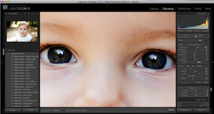 Lightroom - 3 steps to make eyes pop