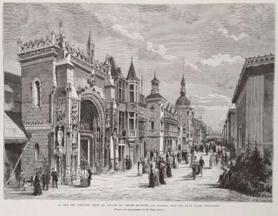 17 best images about 1878 paris exposition for Expo paris mars