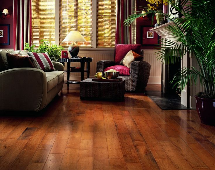Luxury Interior Design With Excellent Laminate Wood Flooring