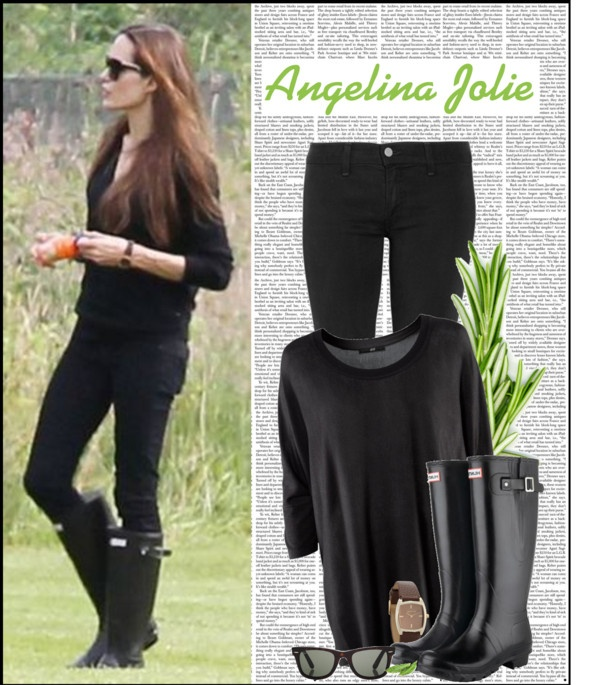 """""""Celebrity style .54 Angelina Jolie"""" by aanyaa on Polyvore"""