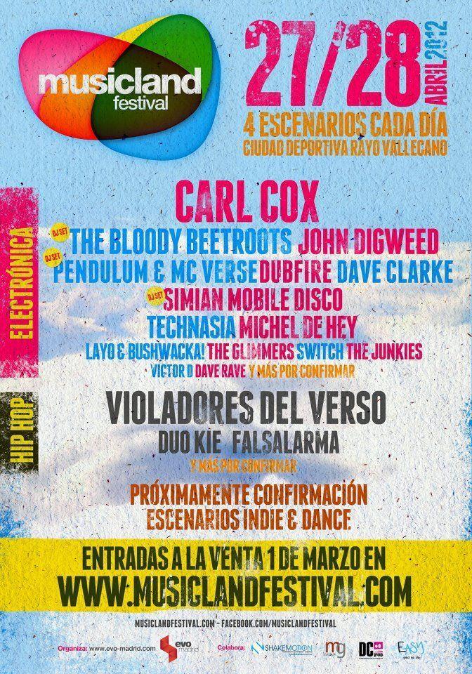 2012_4_28 Musicland Festival Madrid Spain
