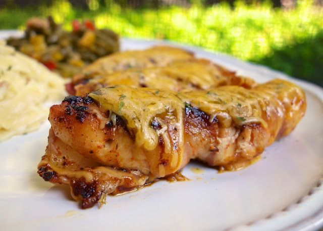Bacon Wrapped BBQ Chicken Tenders | Plain Chicken