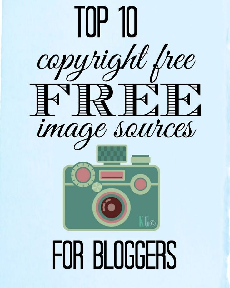 10 copyright free free image sources for bloggers