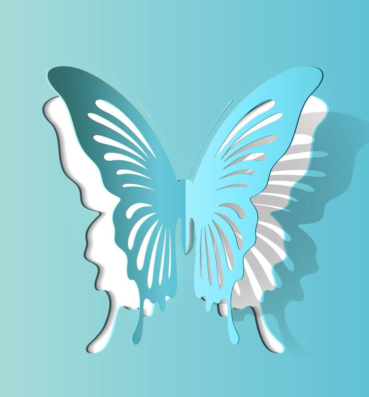 Free Paper Cutting Patterns | Free Download vectors of butterfly paper cut vector material.butterfly ...