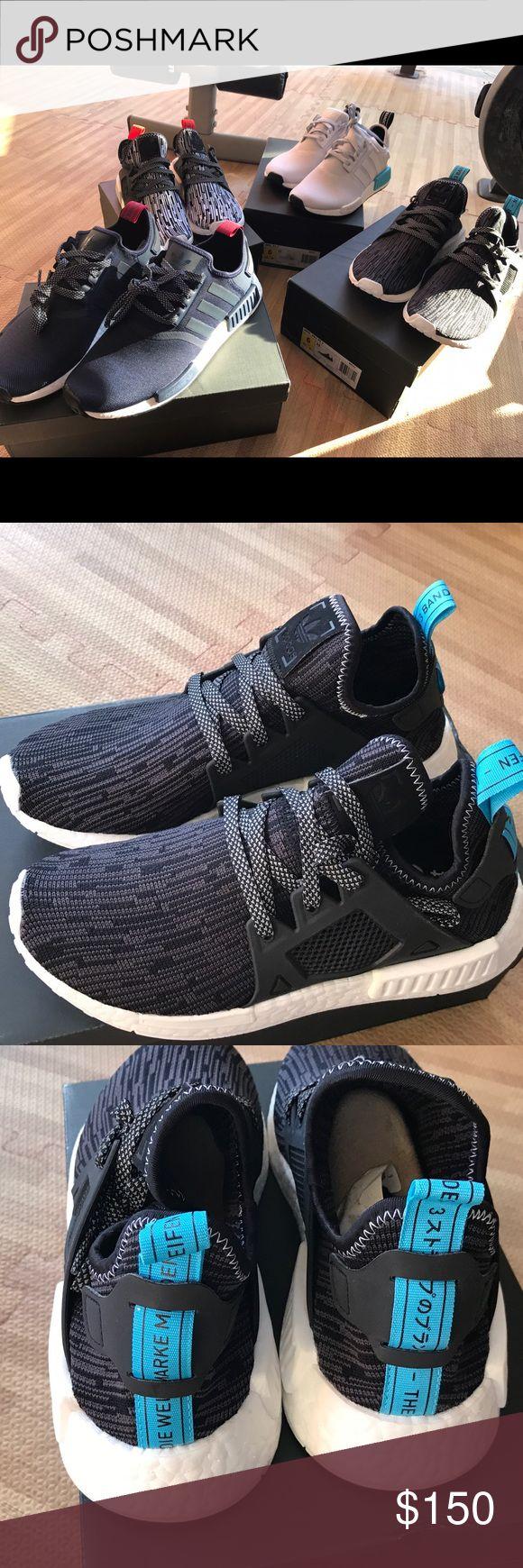 Adidas nmd xr 1 pk black white women size 6 us Adidas nmd xr 1 women size 6  us authentic order from adidas.com 100% cone with original box NIB feel  free ask ...