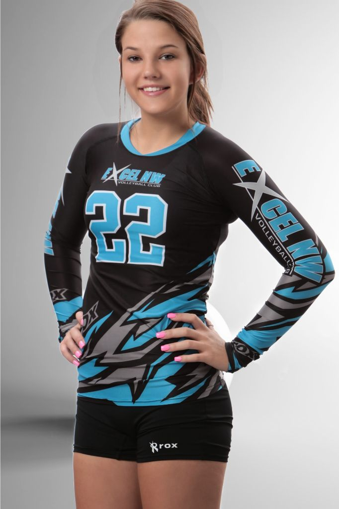 7bf4e3e218e Bolt Women's Sublimated Jersey (3 Color) | R007 | Volleyball | Volleyball  jerseys, Volleyball uniforms, Volleyball