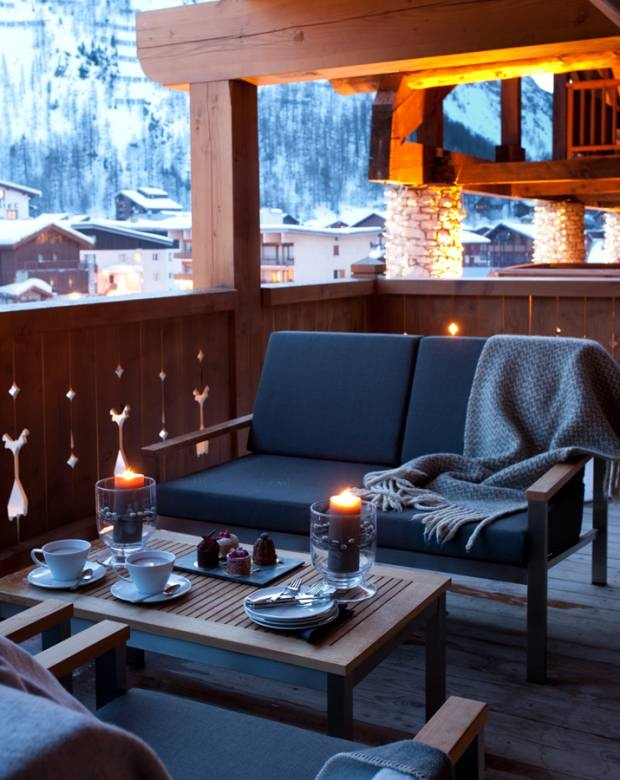 Alpine Living, Interior Design, Ski Chalet, French Alps, Luxury Home, Val