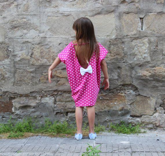 Backless toddler dress Maxi dress for girls by cherryblossomsdress