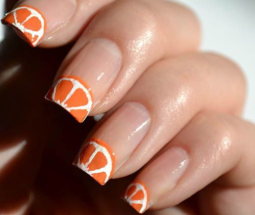 4 Best Fruit Nail Art Designs