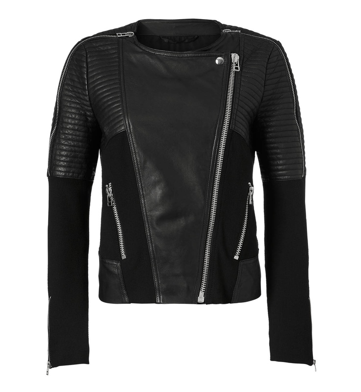 Pepper Biker Leather Jacket - InWear