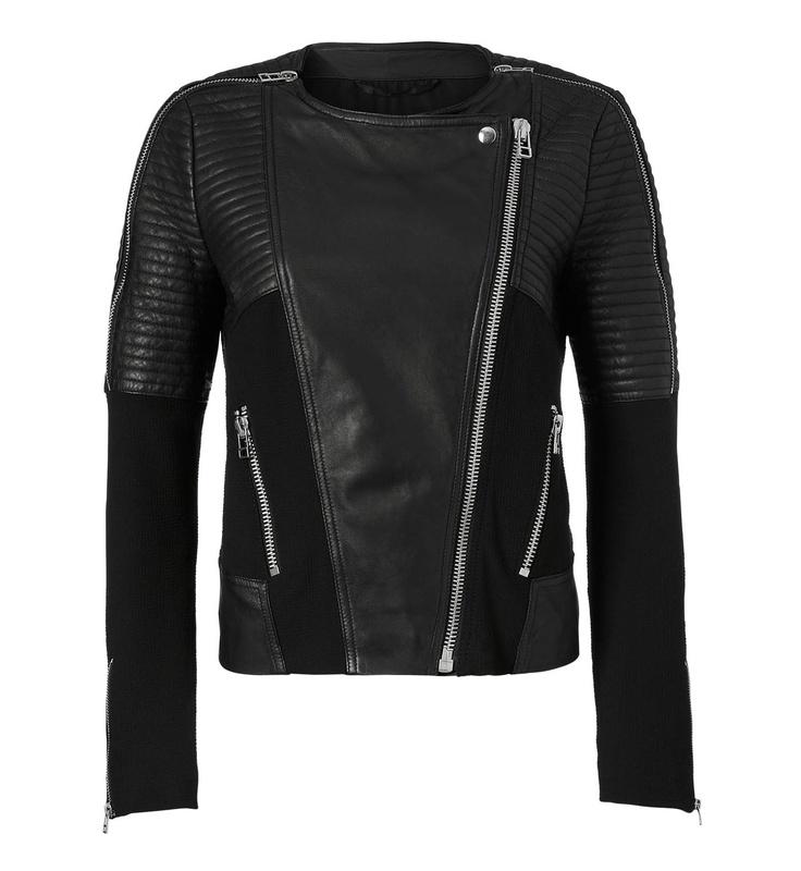 Pepper Biker Leather Jacket - InWear