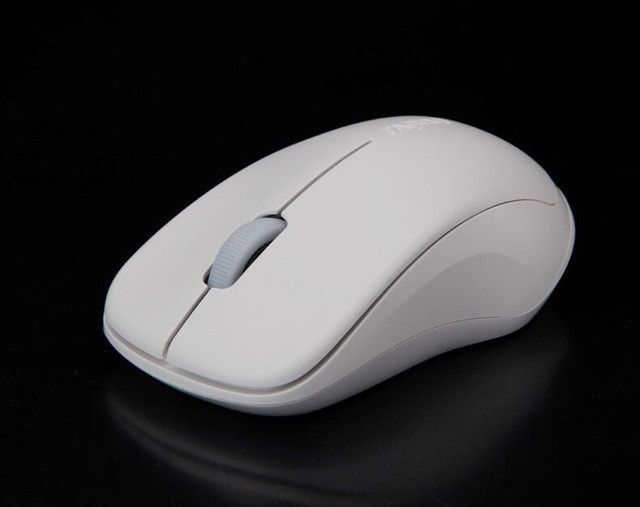New Rapoo 1680 2.4Ghz Wireless Optical Mouse Mute Silent Click Mini Noiseless Mice 1000 DPI for Mac PC Laptop Computer Mouse
