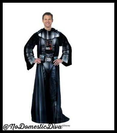 """9 AWESOME Gifts for Guys like """"Luke, I am your Father!""""  The perfect Snuggie for any Dad who loves lounging in the dark side. 