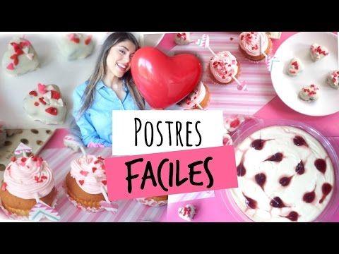 Postres para San Valentin!- Pautips - YouTube