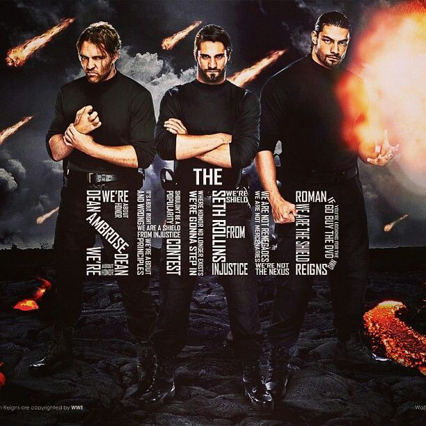 Wwe Superstars Images The Shield