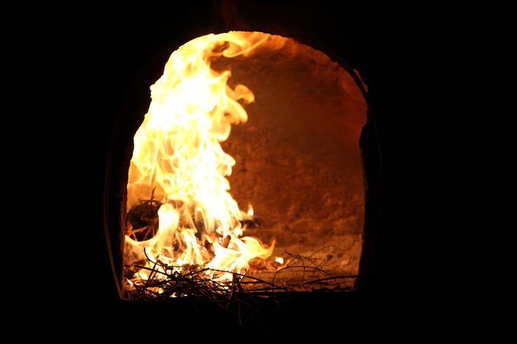 Kemence tűz