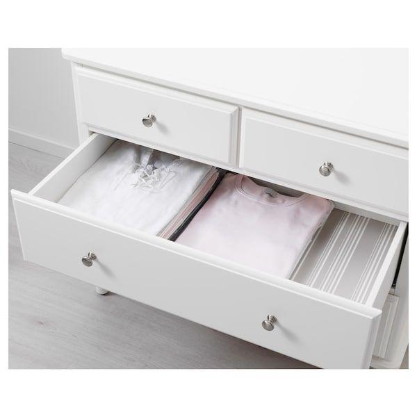 Tyssedal 4 Drawer Dresser White 34 1 4x29 7 8 In 2020 4