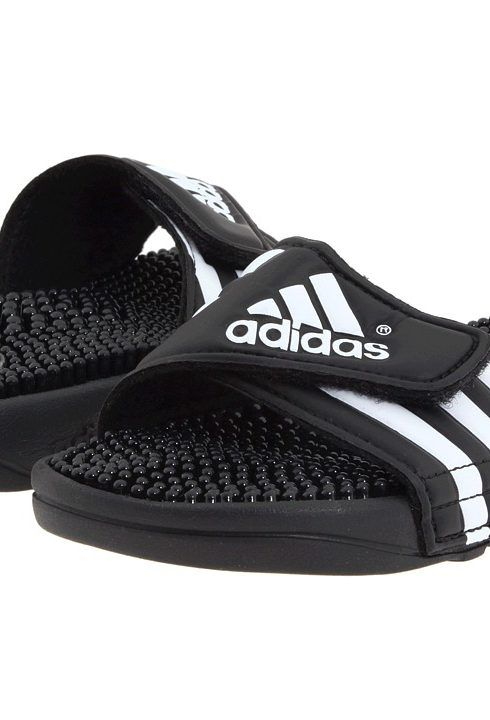 adidas Kids Adissage K Core (Toddler/Little Kid/Big Kid) (Black/White) Kids Shoes - adidas Kids, Adissage K Core (Toddler/Little Kid/Big Kid), 078285, Kids' Shoes Girls Toddler Athletic Athletic, Hook and Loop, Slide, Open Footwear, Footwear, Shoes, Gift, - Fashion Ideas To Inspire