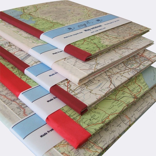 Rhodes map notebook journal £5.00 by Say It