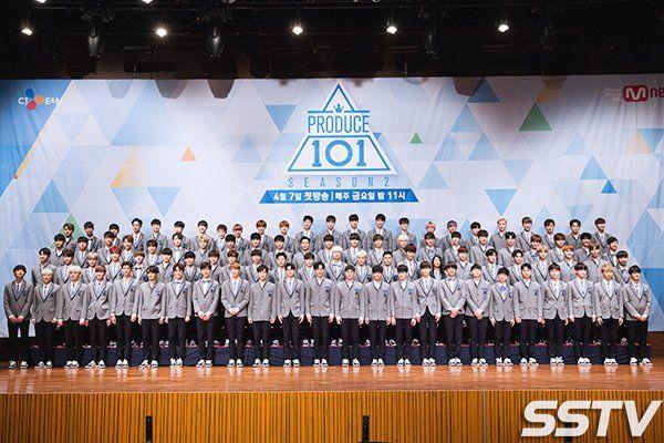 Produce 101 Season 2 Line Up.