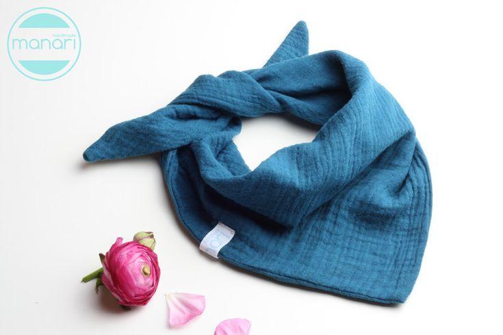 Halstücher - Halstuch Musselin - ein Designerstück von manari-handmade bei DaWanda