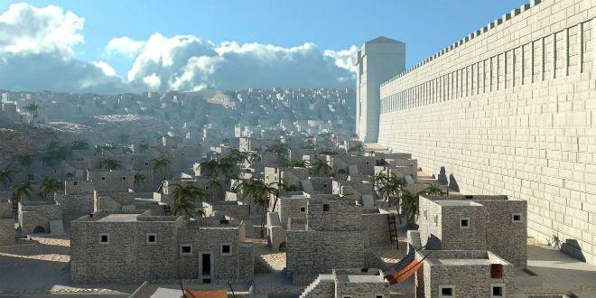 Se Glory Second-Temple Jerusalem, i första hand - bryta Israel News   Senaste nytt. Bibliskt perspektiv.