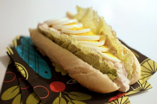Baguette med tonfiskröra | Middagstips & enkla recept på vardagsmat