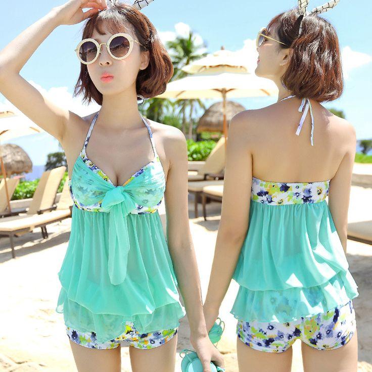 $23.55 (Buy here: https://alitems.com/g/1e8d114494ebda23ff8b16525dc3e8/?i=5&ulp=https%3A%2F%2Fwww.aliexpress.com%2Fitem%2Fswimsuit-conservative-steel-support-split-skirt-type-two-piece-swimsuit-cover-belly-slim-skirt-boxer%2F32715455664.html ) Woman Swimsuit Retro Beach Wear Girls Beachwear Underwire Skirt Acetate Lycra Mayo Bayan Traje De Bano Mujer Fato for just $23.55