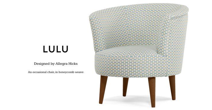 Lulu ronde stoel, geweven honingraat