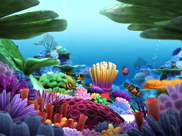 Undersea Life | FREE Underwater Life Screensaver - 3D Underwater Life Screensaver