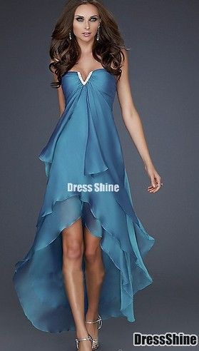 JS Long Prom Dress Coctail