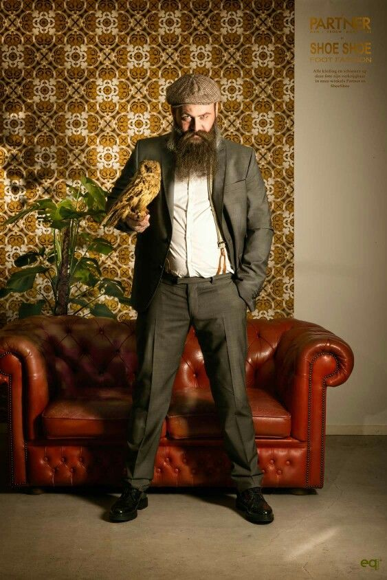 Suits for men, retro fotografie