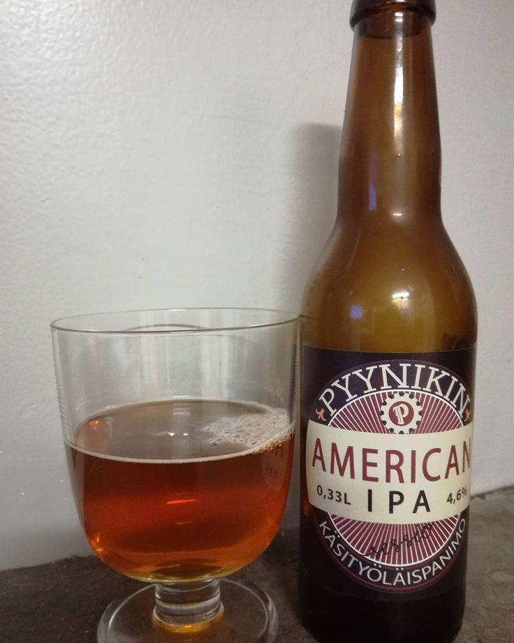 Mmm... good #americanipa #pyynikinkäsityöläispanimo #craftbeer #finnishbeer