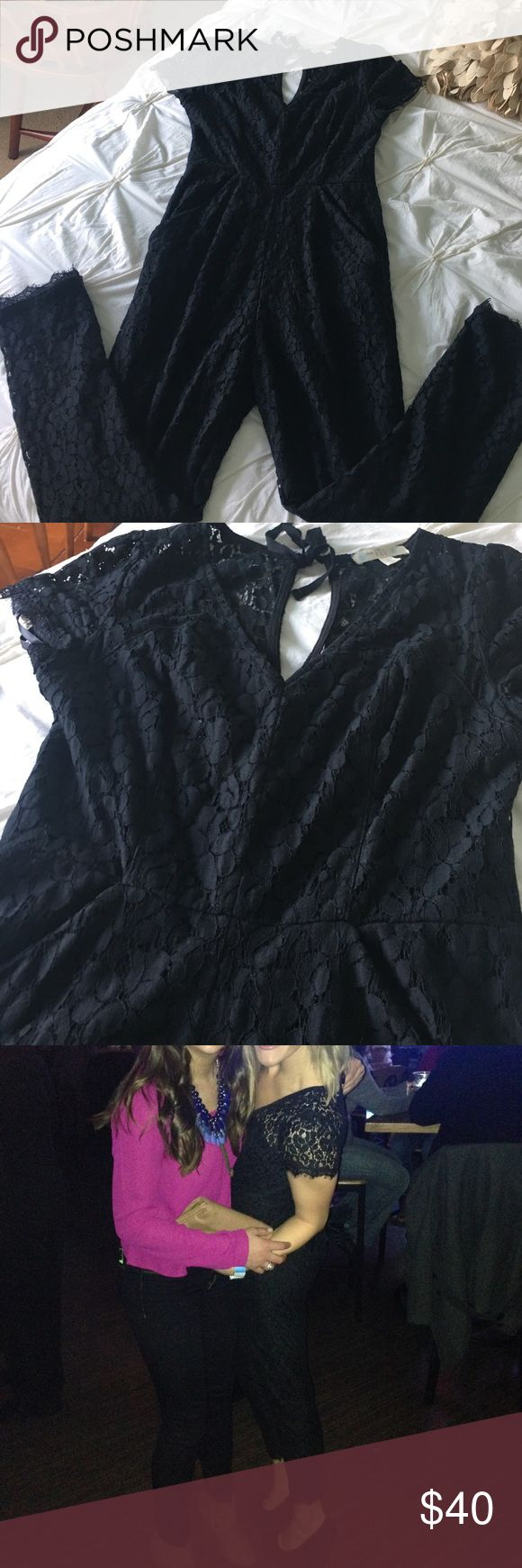 LOVE fire black lace jumpsuit LOVE fire black lace jumpsuit Other