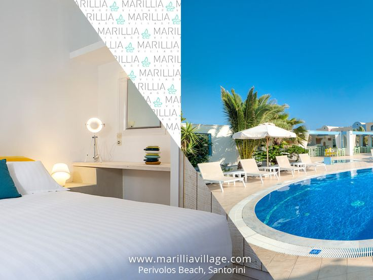 #Book seven nights between May 1st and May 31st & get a #discount of 14% plus One 3-course meal for #free. Live your myth in #Santorini! #MarilliaVillage #Cyclades #Greece #holidays #summer