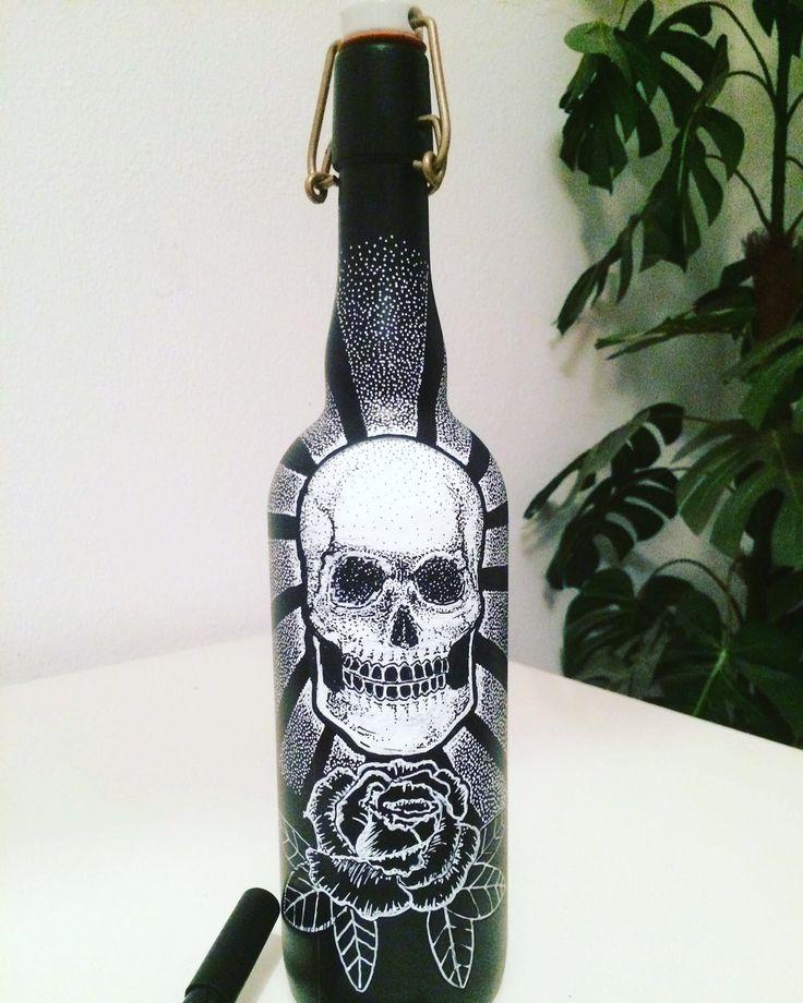 Skull in a bottle!!