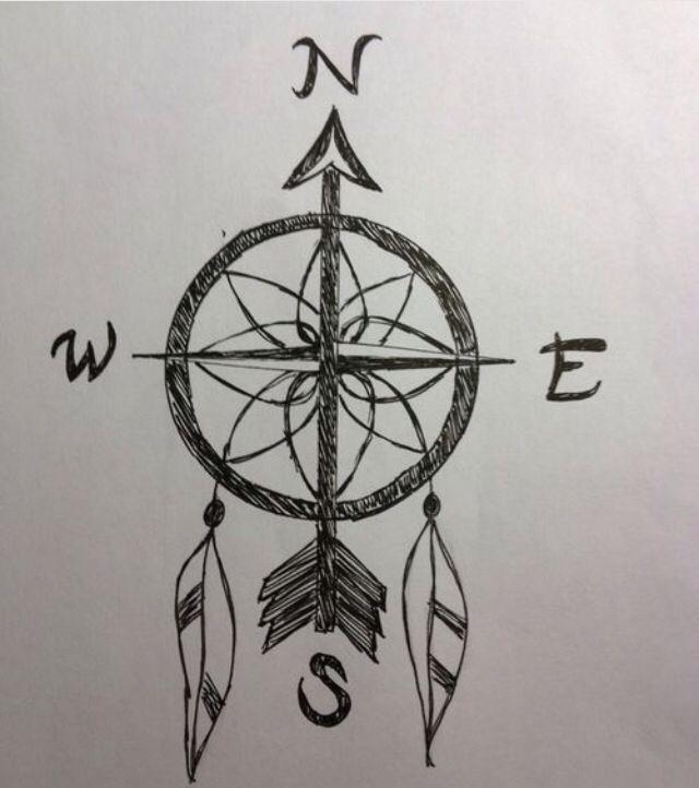 Compass Tattoo, Disney Tattoos