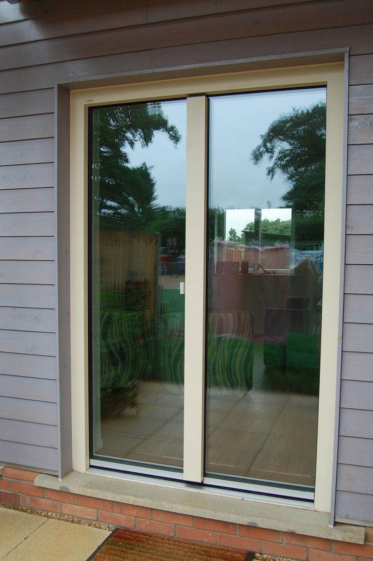 """KF400 Windows and Doors have a """"hidden"""" opener so from outside you can not see that this frame has 2 openers built in."""