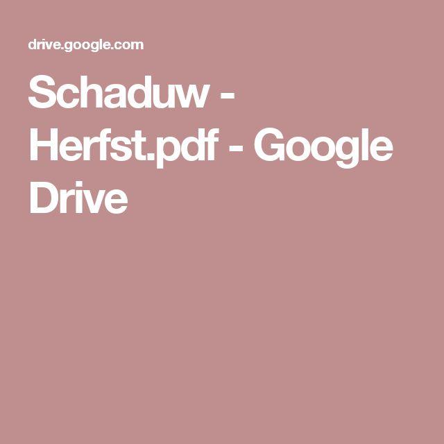 Schaduw - Herfst.pdf - Google Drive