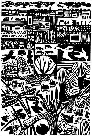 Carry Akroyd - Painter & Printmaker - great inspiration