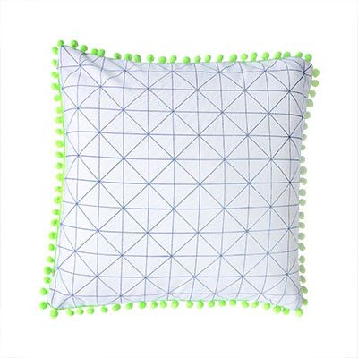 Geometric Print Cushion Cover | Pony Lane