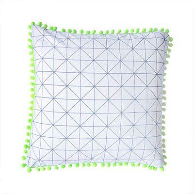 Geometric Print Cushion Cover | Pony Lane